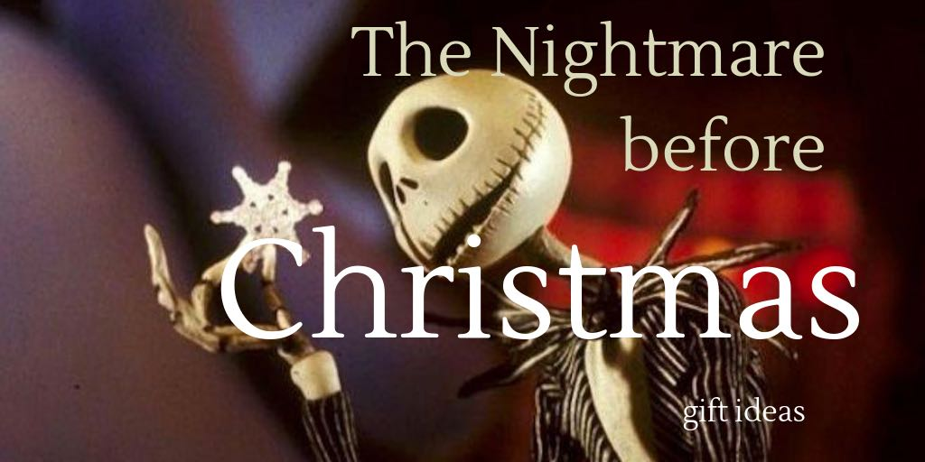 The Nightmare before Christmas gift ideas